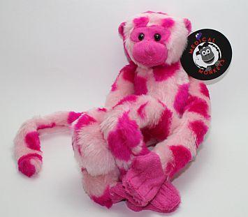 pink camouflage monkey