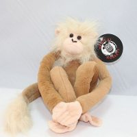 tan plush medical monkeys for charity