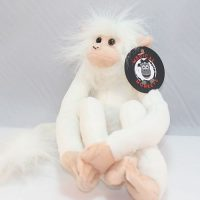 white plush medical monkeys for charity