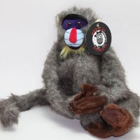 mandril rough coat plush medical monkeys for charity