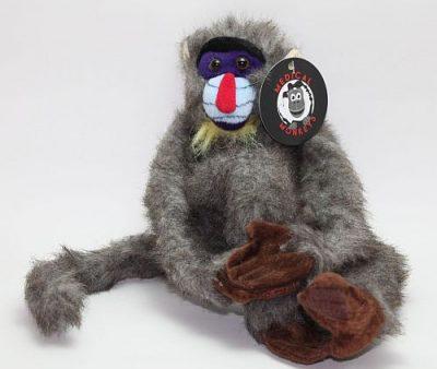 mandril rough coat plush medical monkeys for charity