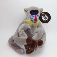 mandril smooth coat plush medical monkeys for charity