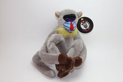 mandril smooth coat plush medical monkeys for charity