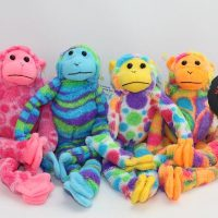 mod squad minis plush medical monkeys for charity
