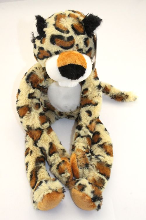 Leopard plush friend for charity