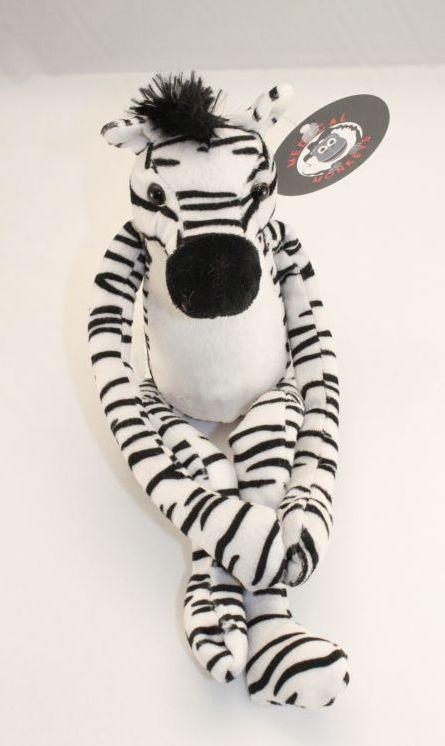 Zebra Plush Friend for Charity