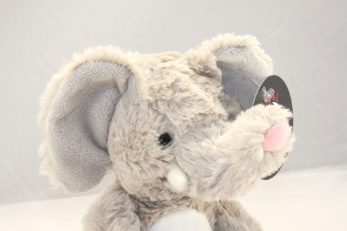 Elephant plush friend for charity