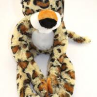 Leopard plush friend for charity