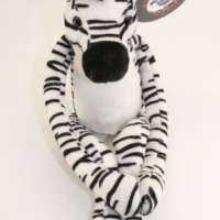 Zebra Plush for Charity